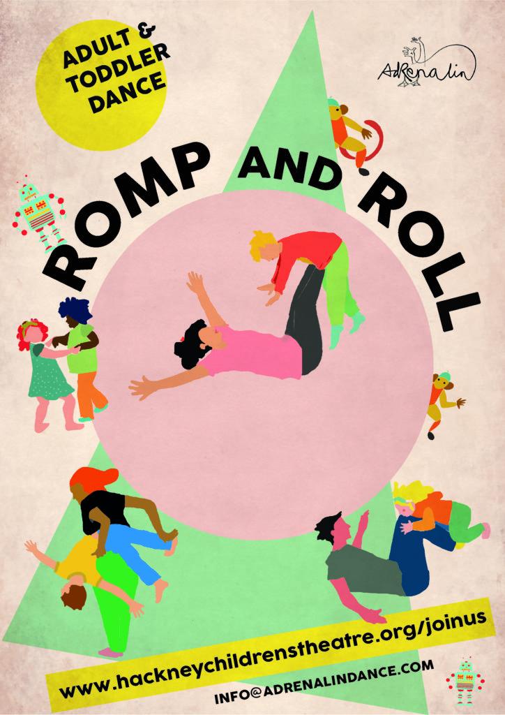 romp and roll dance hackney children s theatre